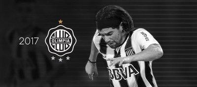Olimpia hace oficial la incorporación de Rodrigo Burgos