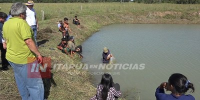 INDÍGENAS DE ITAPÚA INCURSIONAN EN LA PISCICULTURA