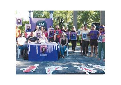 Paraguayas se suman a paro internacional