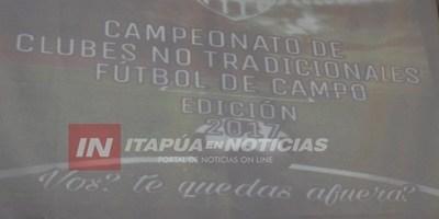 LIGA ENCARNACENA ORGANIZA TORNEO A FAVOR DE NIÑOS DEL BARRIO SAN PEDRO.