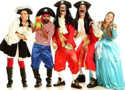 Garfio, una de piratas y princesas sube a escena en el Teatro Municipal