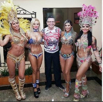 Lluvia De Mediáticas En El Carnaval De Villarrica