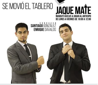 Jaque Mate con Santiago González y Enrique Dávalos