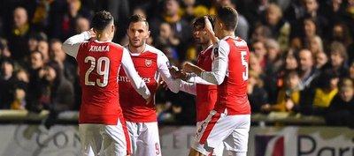 Arsenal cumple con el guión y sella su pase a cuartos