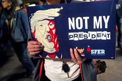 Protestas contra Trump en Estados Unidos