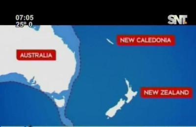 Compacto de noticias: Descubren nuevo continente