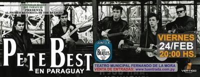El primer baterista de 'The Beatles' toca en Paraguay