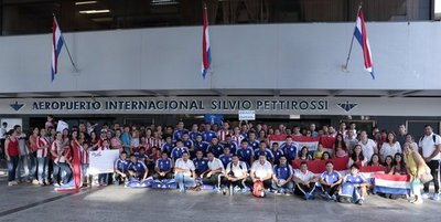 Paraguay Sub 17 viajó a Chile