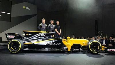 Revelado el RS17, el arma de Renault Sport para 2017