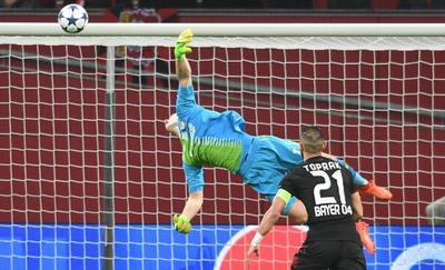Atlético de Madrid ganó al Bayer Leverkusen en 'Champions'
