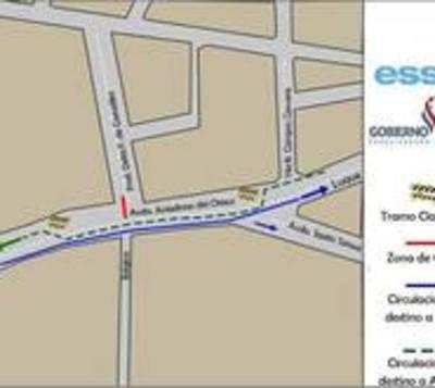 Essap cerrará este miércoles parte de la avenida Aviadores del Chaco
