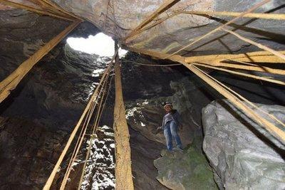 Invitan a visitar las maravillosas cavernas de Vallemí