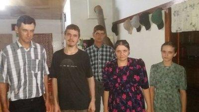 Franz Wiebe ya está con su familia