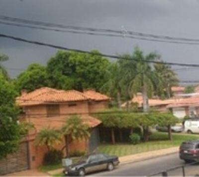 Anuncian tormentas para siete departamentos