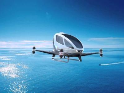 Llegan los drones-taxi