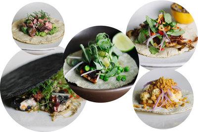 Tacos inspirados en el sushi, del chef más prestigioso de México