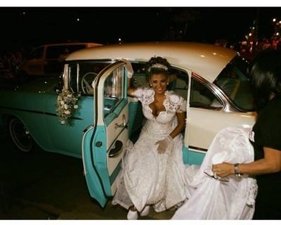 Así se vivió la boda de Marly Figueredo y el gobernador de Guairá