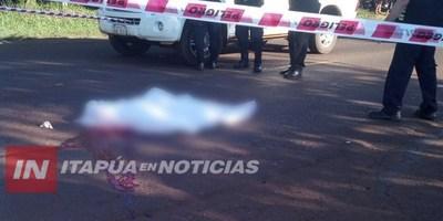 NIÑO DE11 AÑOS AL MANDO DE UNA MOTO FALLECE TRAS CHOCAR CONTRA UN CAMIÓN