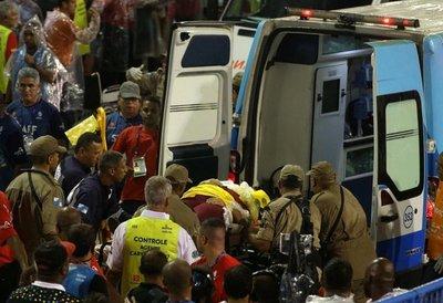Brasil: al menos 20 heridos en accidente en Sambódromo