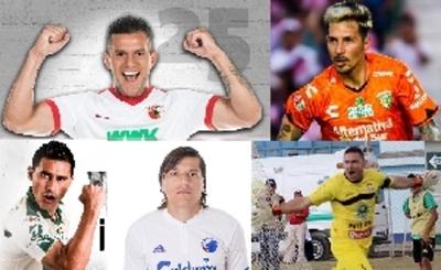 Siete goles paraguayos en ligas del exterior