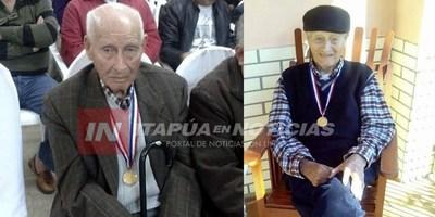 EX COMBATIENTE CUMPLIÓ 103 AÑOS EN CORONEL BOGADO.
