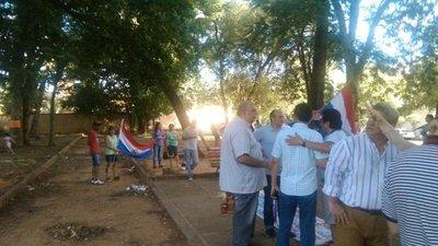 Vecinos se manifiestan por la preservación del Parque Pavetti