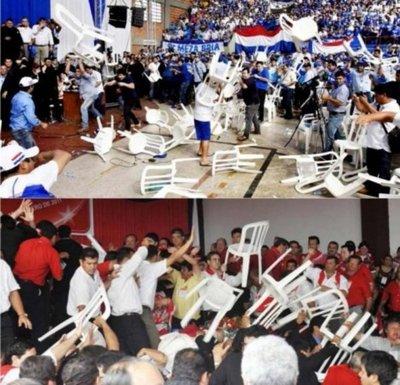 Violencia en las convenciones