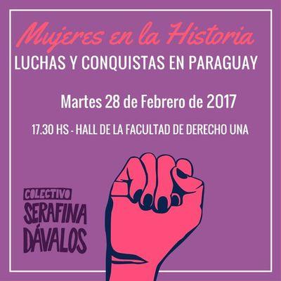 Conversatorio abordará rol de las mujeres en la historia paraguaya