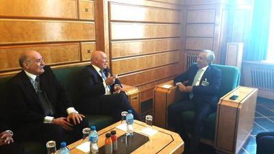 Loizaga se reunió con autoridades de Qatar y Letonia