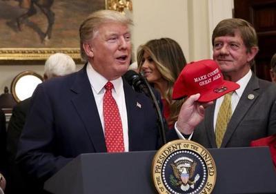 Trump defiende su agenda y visión de país