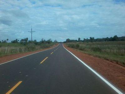 Itaipu construyó asfaltado de acceso a colonia Fortuna Guazú