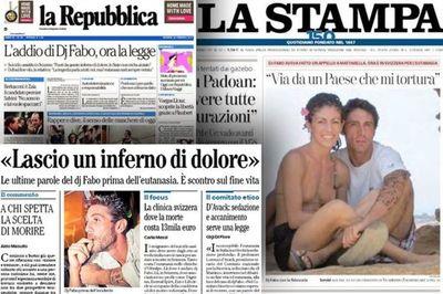 """El """"infierno de dolor"""" de DJ Fabo, el italiano que decidió terminar con su vida y reavivó el debate sobre el suicidio asistido"""