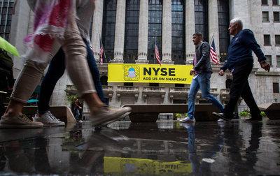 Snapchat y sus 'historias' se lanzan a la bolsa de valores de Nueva York