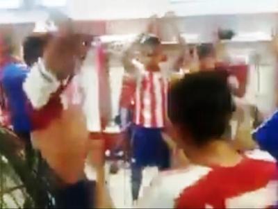 Festejo paraguayo tras la clasificación