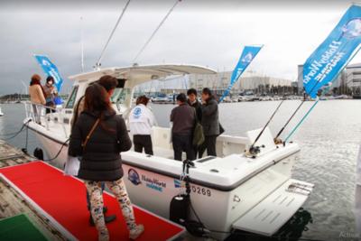Industria paraguaya presente entre gigantes náuticos en Japón