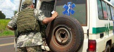 Joven dio a luz en una ambulancia