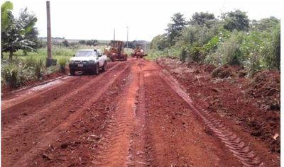Fueron renovados 305 Km de caminos en Alto Paraná