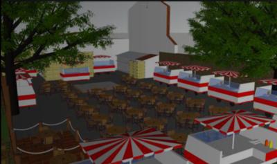 La ciudad de Limpio ya podrá disfrutar de un patio gourmet