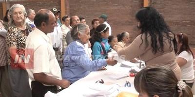 CENSO DE ADULTOS MAYORES EN LOCALIDADES DE ITAPÚA