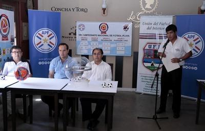Areguá vibra con la Liga Nacional de Fútbol Playa