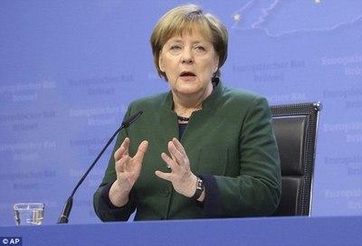 Viaje de Merkel a EE UU busca cooperación y lucha contra proteccionismo