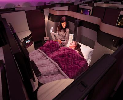 Antojos de ricos: Avión con cama matrimonial