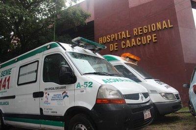 Roban a un bebé del Hospital de Caacupé