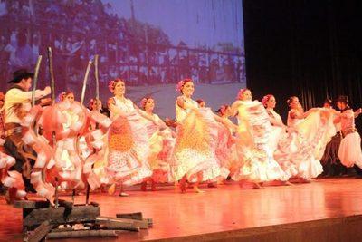 Taller de danza paraguaya en Centro Municipal N°4