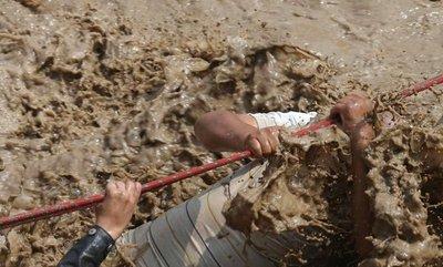 Dramático rescate de damnificados por lluvias y aludes en Perú
