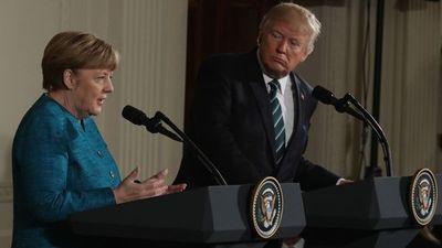 """Trump acusó a Alemania de deber """"grandes sumas de dinero"""" a OTAN"""