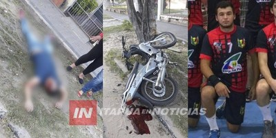 HANDBALL: EX JUGADOR DE CAMBYRETÁ Y CNEL.  BOGADO FALLECE EN TRÁGICO ACCIDENTE