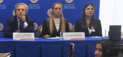 El secretario general de la OEA ratifica que en Venezuela no existe democracia