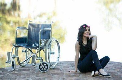 La Miss que estuvo en silla de ruedas durante 8 meses
