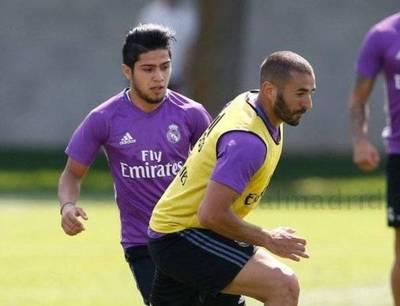 Zidane le da su lugar al Chico Díaz